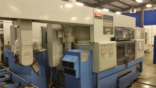 Used Mazak Multiplex 6200 W/GL100C Gantry CNC Turning Center