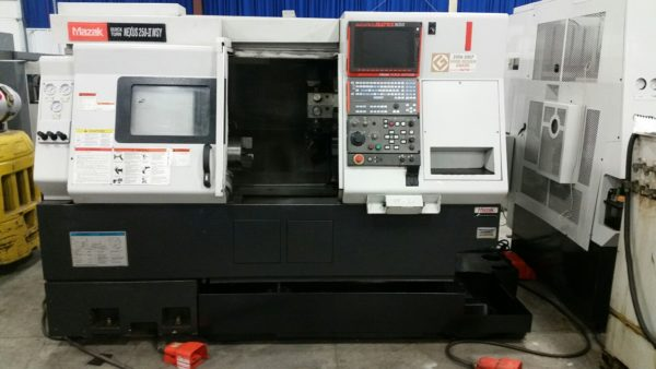 USED 2007 MAZAK USED QUICK TURN NEXUS 250MSY CNC MULTIAXIS