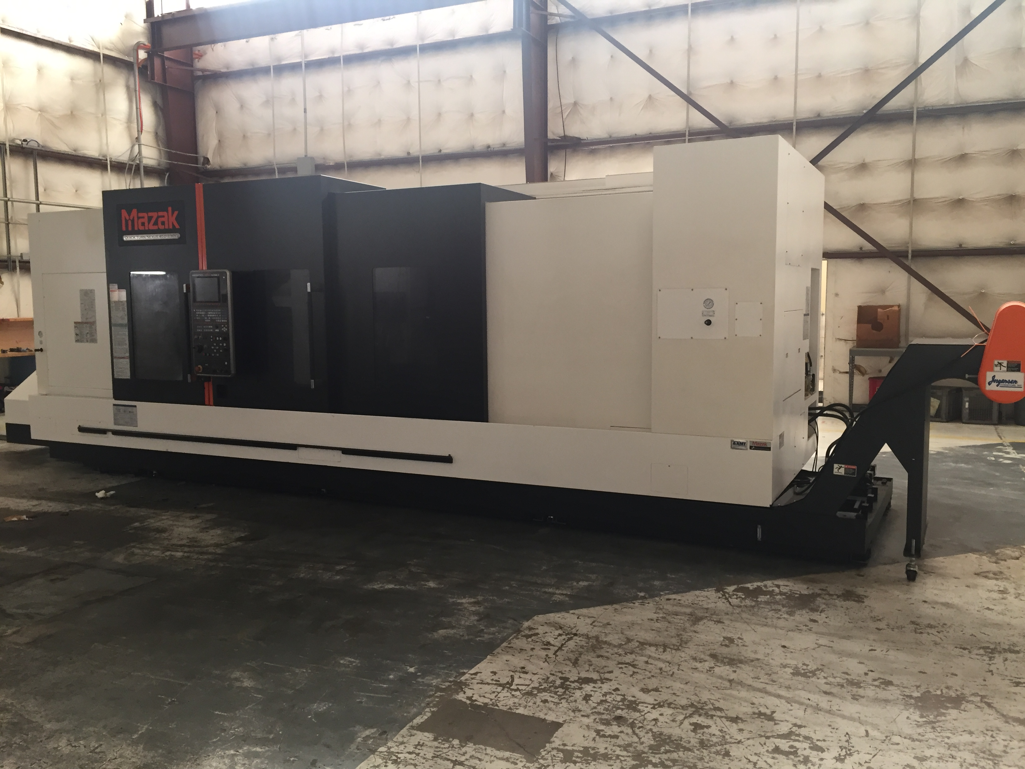 USED MAZAK QUICK TURN NEXUS 450 IIMY CNC MULTIAXIS LATHE