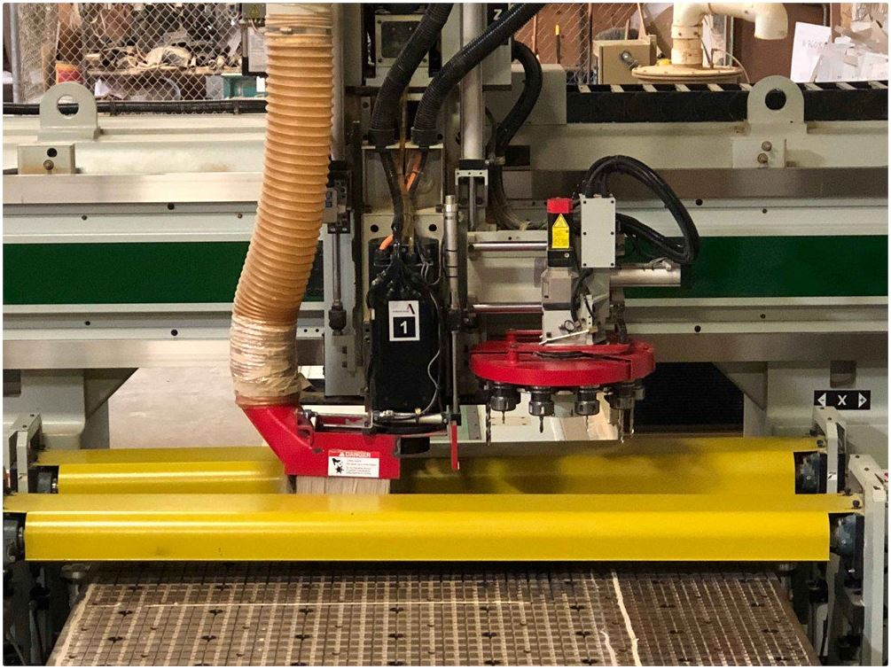 Used Anderson CNC Router AndiMaxx Roller Hold Down for Sale - ASI